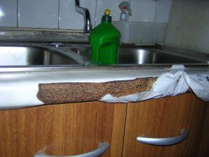 Cucina rovinata