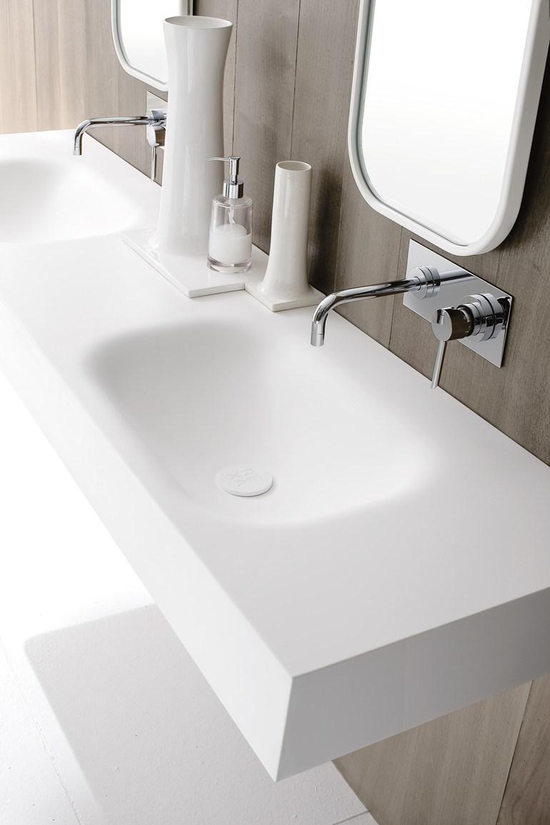 Piano Lavabo In Corian lavabo bagno corian - arredare senza errori